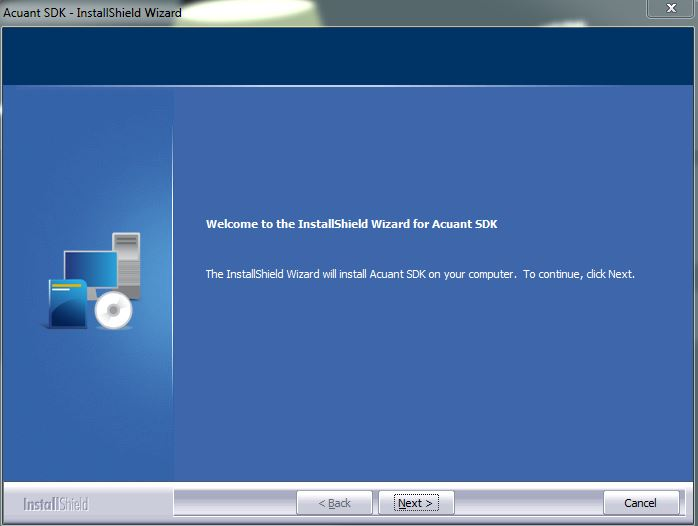 Installing and configuring the Acuant driver's license